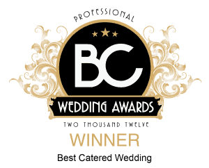 Best Catered Wedding in BC WINNER